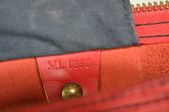 Louis Vuitton Lv Epi Speedy Neverfull Tote in Red Image 9