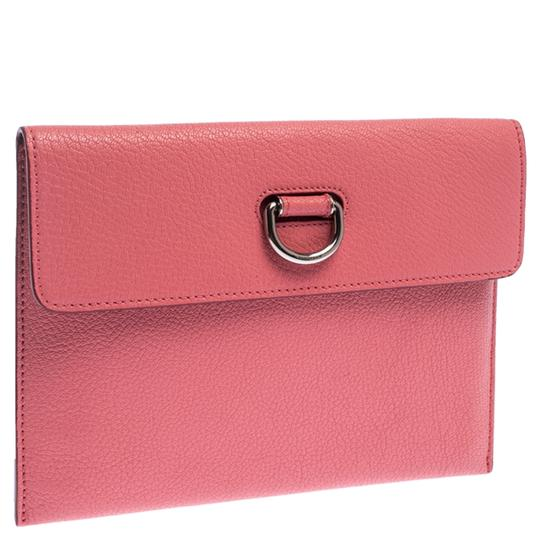 Burberry Leather Pink Clutch Image 3