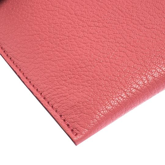 Burberry Leather Pink Clutch Image 4
