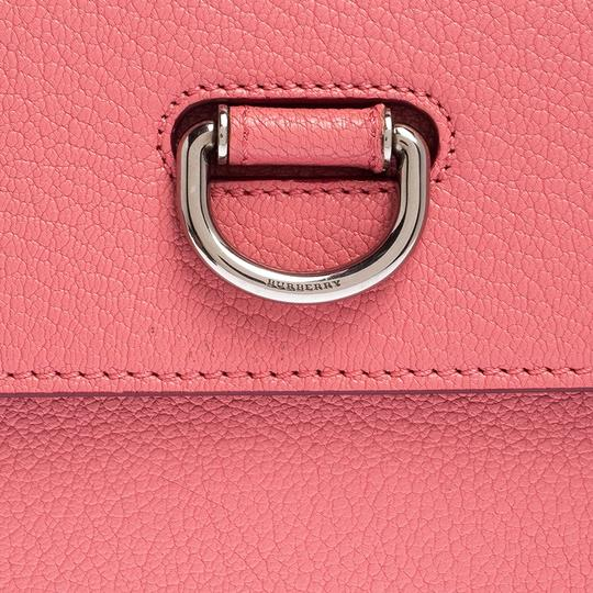 Burberry Leather Pink Clutch Image 8