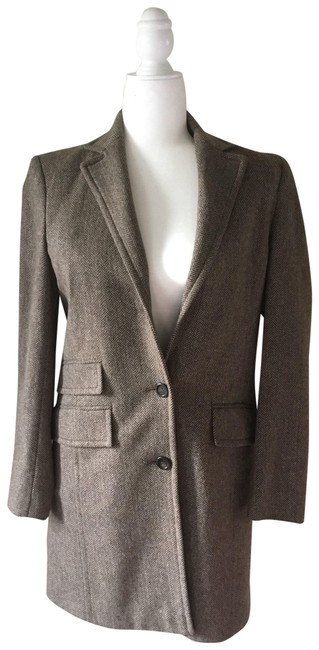 Preload https://img-static.tradesy.com/item/26284069/jcrew-like-new-plaza-in-herringbone-coat-size-2-xs-0-1-650-650.jpg
