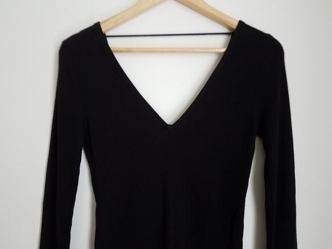 Free People Embroidered Lace T Shirt Black Image 4