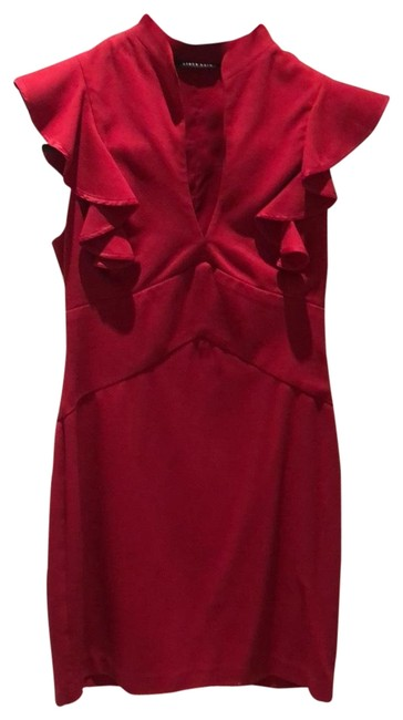 Item - Red Short Cocktail Dress Size 6 (S)