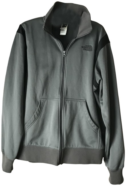 Item - Grey Black Men's Zip-up Jacket Size 14 (L)