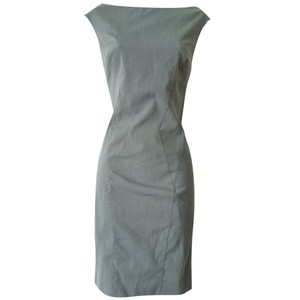Sisley Sleeveless Sheath Shift Knee Length Knee Dress