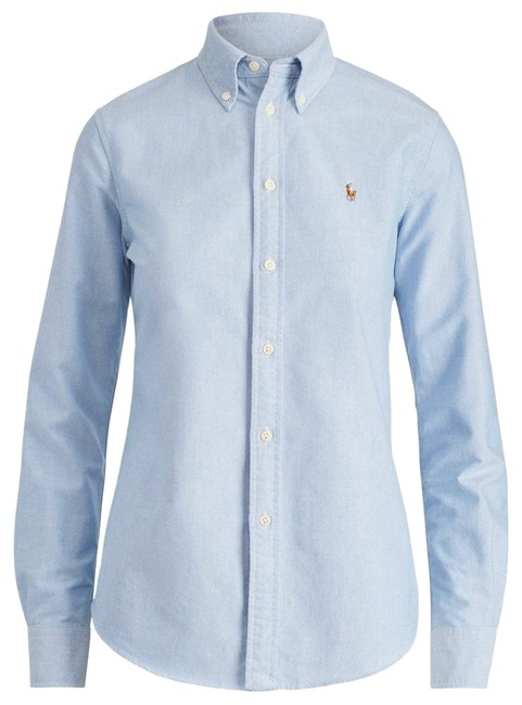 Item - Slim Fit Button-down Top Size 4 (S)