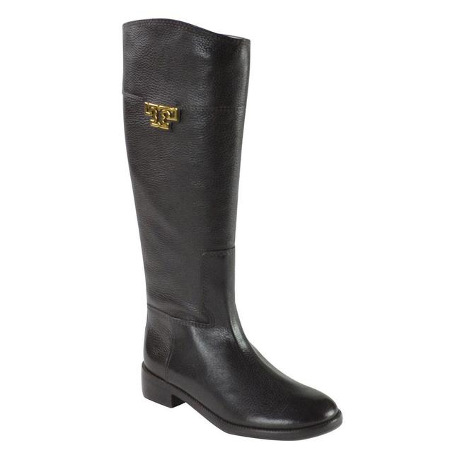 Tory Burch Coconut Joanna Riding Tumble Leather Boots/Booties Size US 8.5 Regular (M, B) Tory Burch Coconut Joanna Riding Tumble Leather Boots/Booties Size US 8.5 Regular (M, B) Image 5