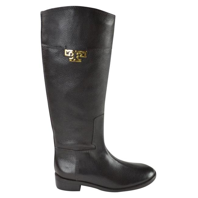 Tory Burch Coconut Joanna Riding Tumble Leather Boots/Booties Size US 8.5 Regular (M, B) Tory Burch Coconut Joanna Riding Tumble Leather Boots/Booties Size US 8.5 Regular (M, B) Image 6