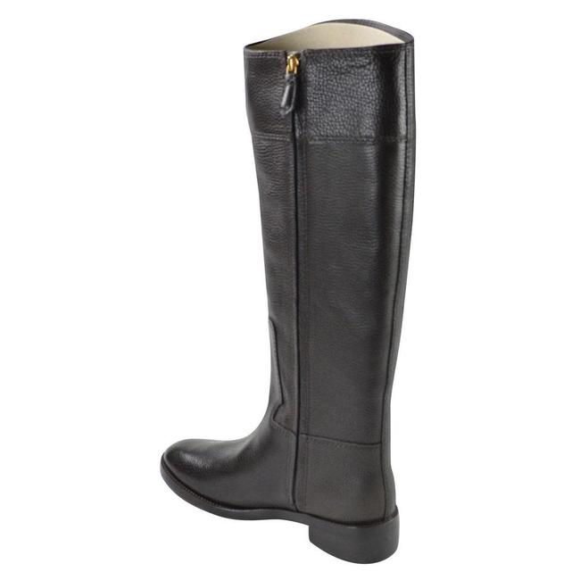 Tory Burch Coconut Joanna Riding Tumble Leather Boots/Booties Size US 8.5 Regular (M, B) Tory Burch Coconut Joanna Riding Tumble Leather Boots/Booties Size US 8.5 Regular (M, B) Image 7