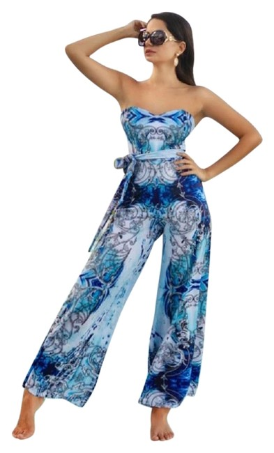 Item - Blue Coco Jumpsuit Cover-up/Sarong Size 2 (XS)