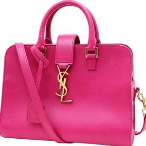 Saint Laurent Satchel in bubblegum