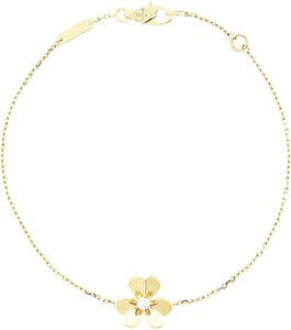 Van Cleef & Arpels Van Cleef & Arpels Frivole bracelet, mini model Yellow gold, Diamond