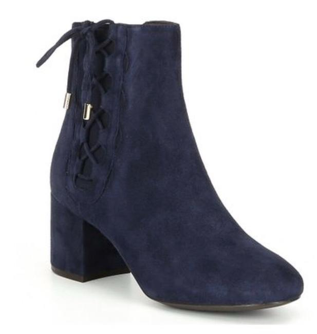 Item - Blue Suede Ankle Boots/Booties Size US 9 Regular (M, B)