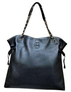 Tory Burch Shoulder Slouchy 60230 Tote in Black