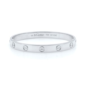 Cartier Love Bangle Size 16 Old Screw System