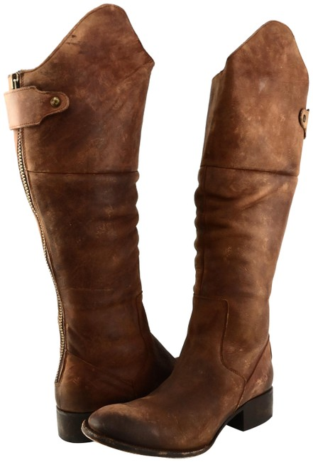 Item - Tan Stable Leather Knee High Boots/Booties Size US 6 Regular (M, B)
