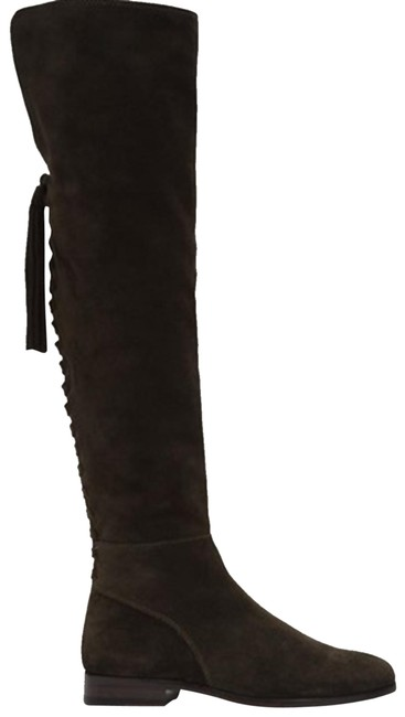 Item - Fatigue Tina Tassel Suede Over The Knee Boots/Booties Size US 6.5 Regular (M, B)