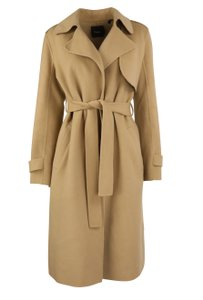 Theory Wool Cashmere Polyester Trench Coat