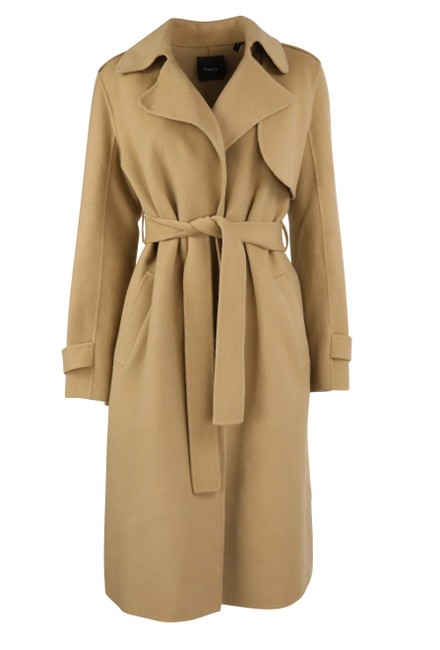Item - Brown Df New Divided Coat Size 4 (S)