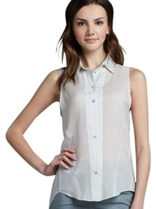 Theyskens' Theory Theoryfietrablouse Theoryblouse Theorysilktop Top White