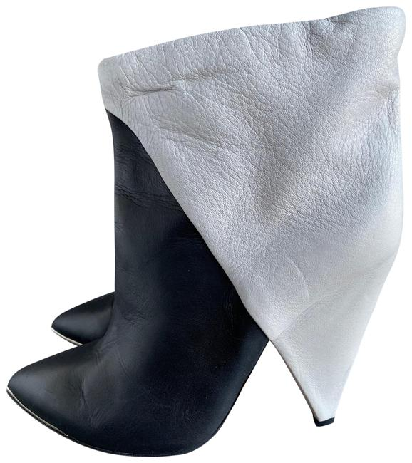 Item - Black and White Keira Boots/Booties Size EU 39 (Approx. US 9) Regular (M, B)