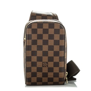 Louis Vuitton Lv Mono Waistbag Travel brown Messenger Bag