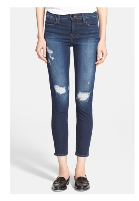 Item - Baker Distressed Le High Destroyed Skinny Jeans Size 00 (XXS, 24)