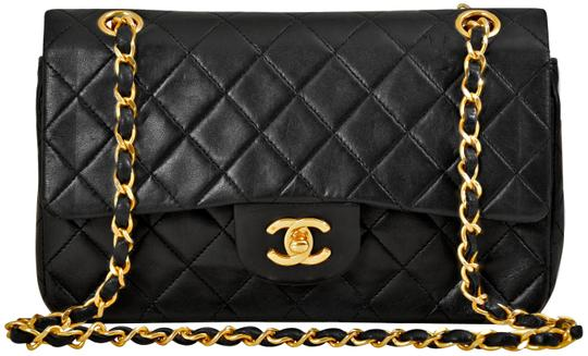Preload https://img-static.tradesy.com/item/26288674/chanel-255-reissue-double-flap-925-inch-with-2-way-gold-chain-black-quilted-lambskin-leather-shoulde-0-3-540-540.jpg