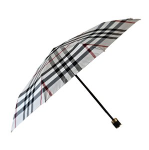 Burberry Burberry Trafalgar Pack Able Check Folding Umbrella