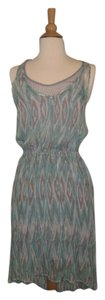 Ella Moss short dress Capri - Multi- Turquoise, Beige , Grey Off- White on Tradesy
