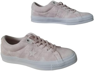 Converse Suede Sneaker Pink Low-top Barley Rose & White Athletic
