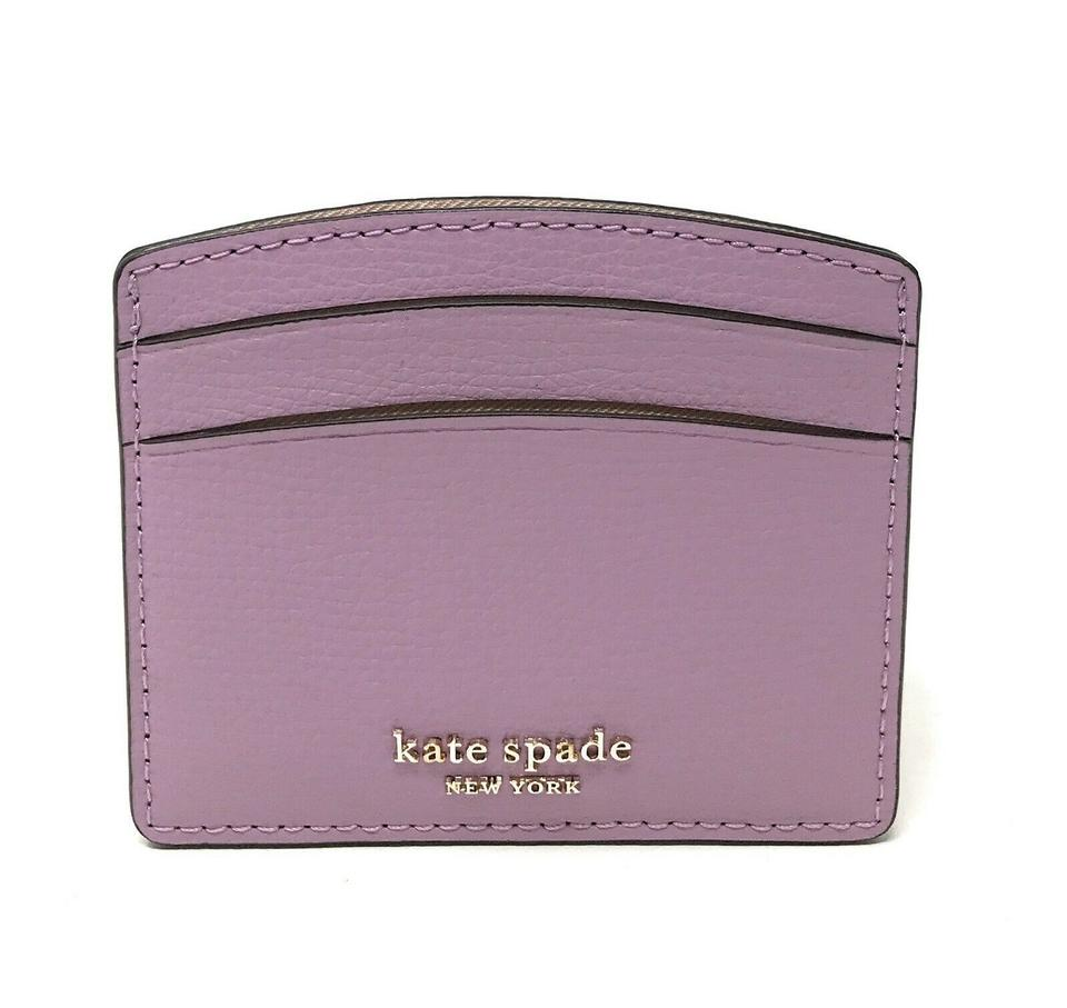 kate spade card case  Kate Spade Orchid Sylvia Card Holder Card Case Mini Wallet 7% off retail