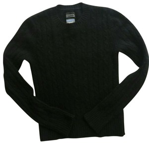 George Cable Knit Slim Fit Cashmere Sweater