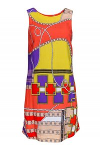 Sara Campbell short dress Day Multicolored Graphic on Tradesy