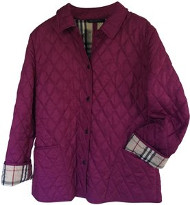 Burberry Nova Quilted Berry Jacket