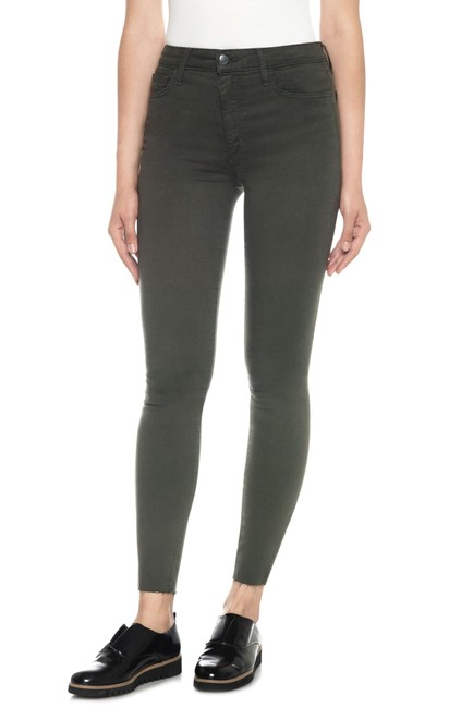 Item - Forest Green Charlie High Rise Ankle Skinny Straight Leg Jeans Size 24 (0, XS)