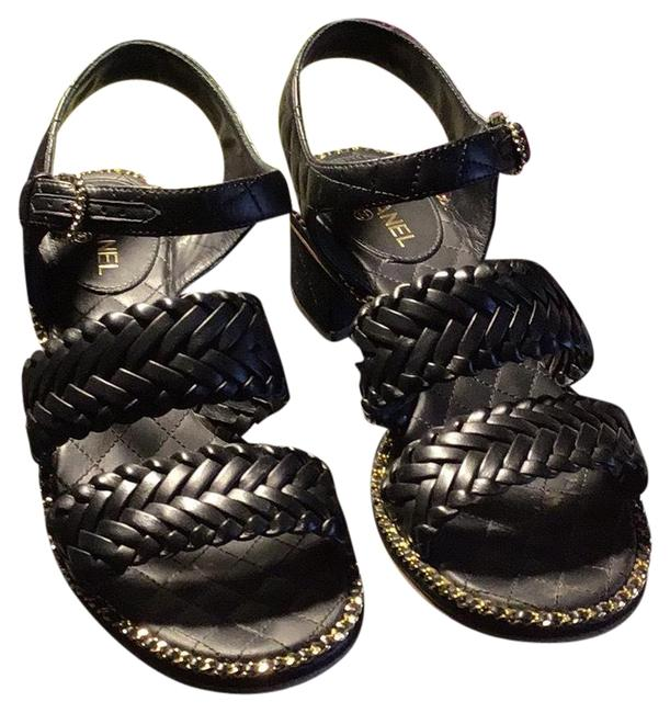 Item - Black with Gold And Dress Formal Shoes Size EU 36 (Approx. US 6) Regular (M, B)