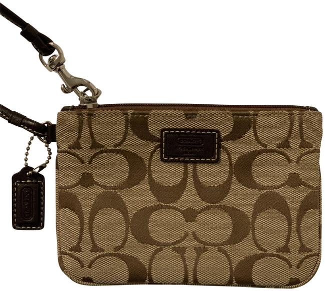 Item - Signature Light Brown Wristlet