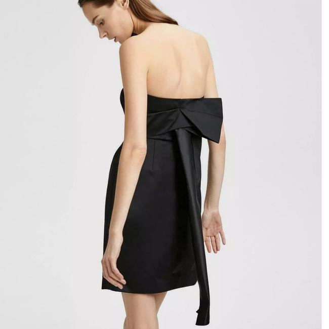 Item - Black Corset Strapless Tieback Short Cocktail Dress Size 2 (XS)
