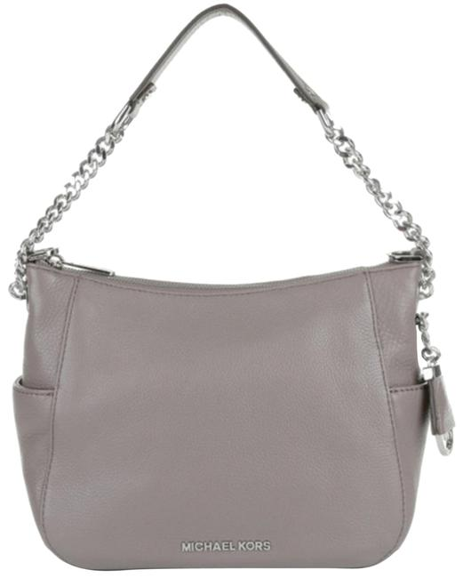 Item - Crossbody Chandler Large Convertible Pearl Grey Leather Shoulder Bag