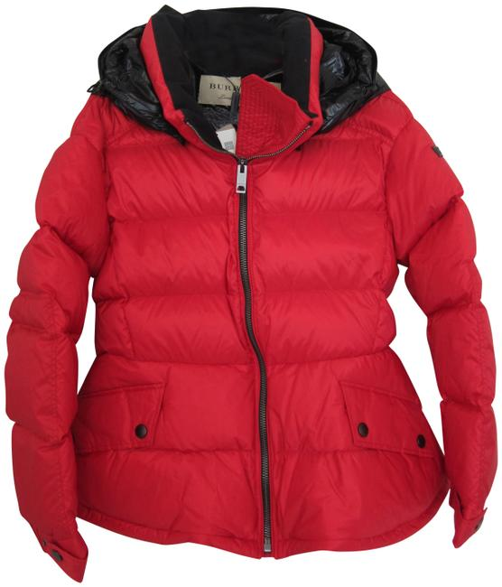 Item - Red New Fleetwood Down Puffer Hooded Jacket Large Coat Size 12 (L)