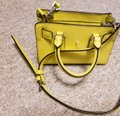 Michael Kors Dillion Xsmall Saffiano Cross Body Canary Yellow Genuine Leather Messenger Bag Michael Kors Dillion Xsmall Saffiano Cross Body Canary Yellow Genuine Leather Messenger Bag Image 4
