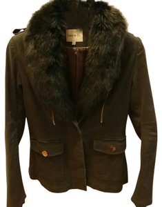 Other Spring Faux Fur Military Jacket