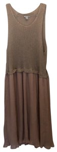 Forever 21 short dress beige and peach on Tradesy