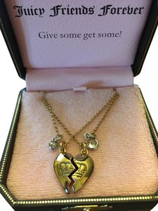 Juicy Couture 100% authentic Juicy Couture Best Friends Forever Necklace