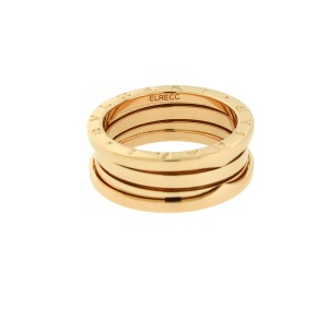 BVLGARI Bvlgari B.ZERO1 3 band ring in 18k rose gold AN852405 size 59
