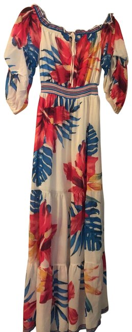 Item - Colorful Long Casual Maxi Dress Size 4 (S)