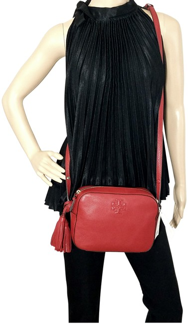 Item - Thea Rust Red Leather Shoulder Bag