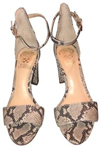 Vince Camuto natural multi Sandals