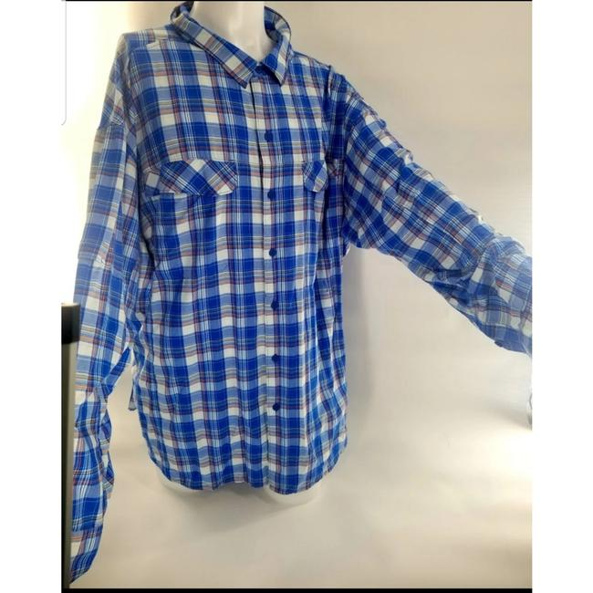 Preload https://item3.tradesy.com/images/columbia-sportswear-company-blue-men-s-5xl-tall-outdoor-button-down-top-size-os-one-size-26297797-0-1.jpg?width=400&height=650